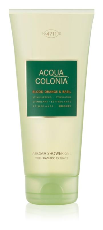 4711 Acqua Colonia Blood Orange & Basil żel pod prysznic unisex 200 ml