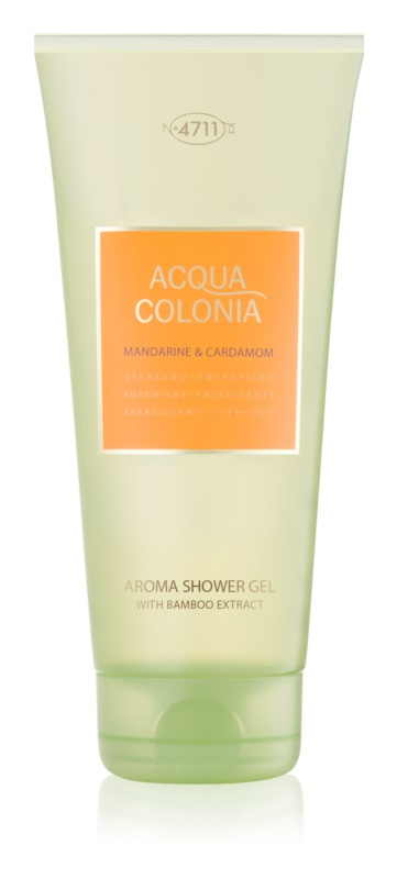 4711 Acqua Colonia Mandarine & Cardamom gel douche mixte 200 ml