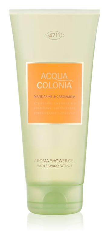4711 Acqua Colonia Mandarine & Cardamom gel za prhanje uniseks 200 ml