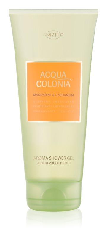 4711 Acqua Colonia Mandarine & Cardamom żel pod prysznic unisex 200 ml