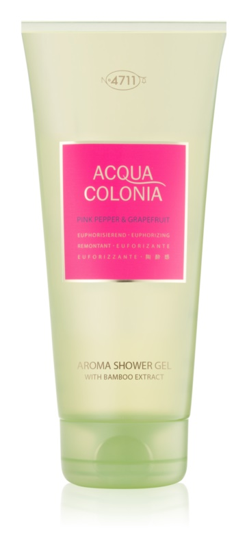 4711 Acqua Colonia Pink Pepper & Grapefruit gel douche mixte 200 ml