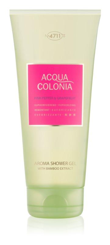 4711 Acqua Colonia Pink Pepper & Grapefruit Shower Gel unisex 200 ml
