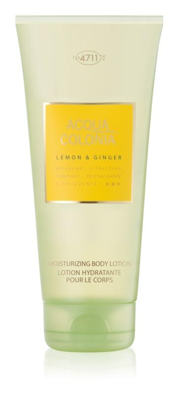 4711 Acqua Colonia Lemon & Ginger testápoló tej unisex 200 ml