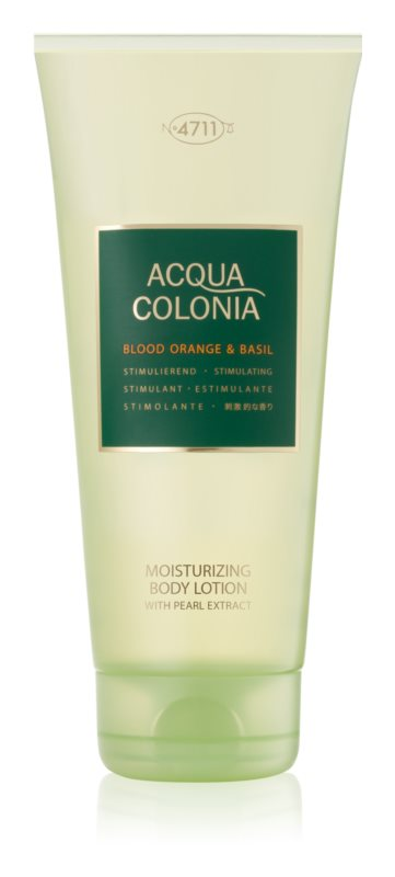 4711 Acqua Colonia Blood Orange & Basil tělové mléko unisex 200 ml