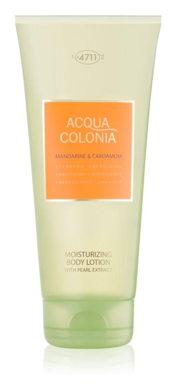 4711 Acqua Colonia Mandarine & Cardamom тоалетно мляко за тяло унисекс 200 мл.
