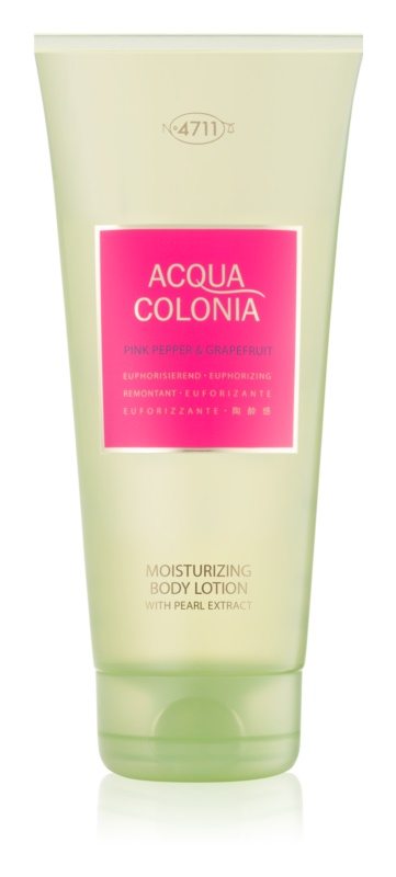 4711 Acqua Colonia Pink Pepper & Grapefruit lotion corps mixte 200 ml