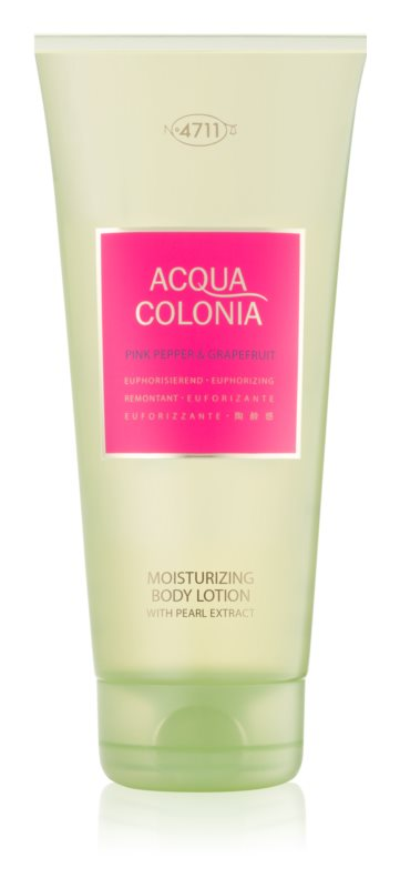 4711 Acqua Colonia Pink Pepper & Grapefruit testápoló tej unisex 200 ml