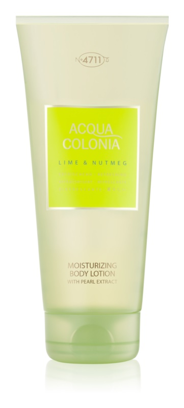 4711 Acqua Colonia Lime & Nutmeg lotion corps mixte 200 ml