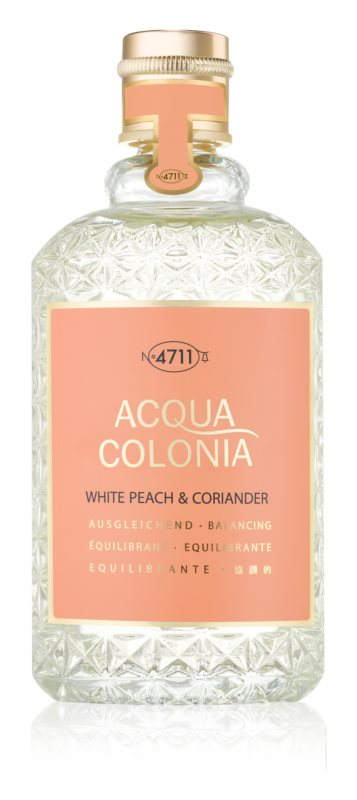 4711 Acqua Colonia White Peach & Coriander одеколон унисекс 170 мл.