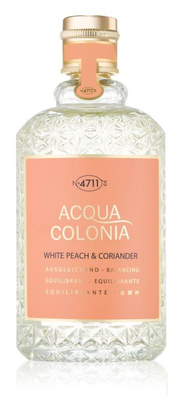 4711 Acqua Colonia White Peach & Coriander одеколон унисекс 170 мл.