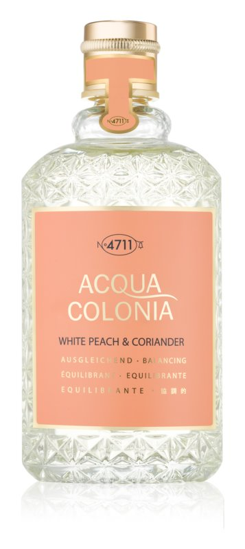 4711 Acqua Colonia White Peach & Coriander Κολώνια unisex 170 μλ