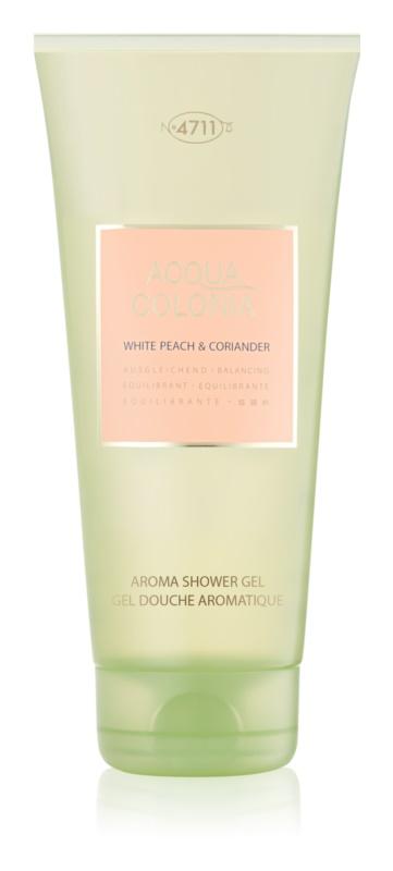 4711 Acqua Colonia White Peach & Coriander Douchegel Unisex 200 ml