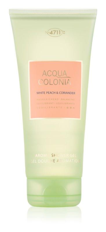 4711 Acqua Colonia White Peach & Coriander gel de dus unisex 200 ml