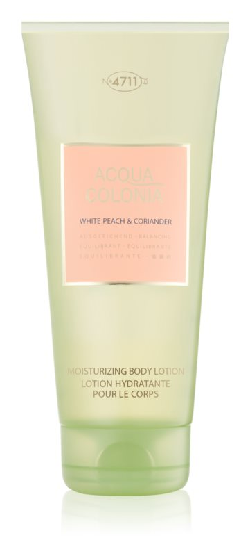 4711 Acqua Colonia White Peach & Coriander lapte de corp unisex 200 ml