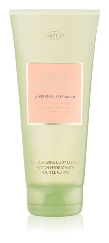 4711 Acqua Colonia White Peach & Coriander lotion corps mixte 200 ml