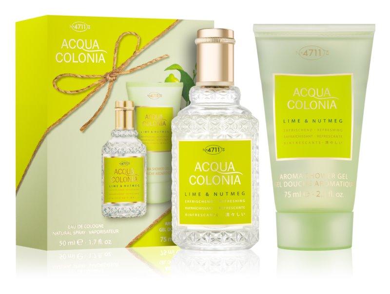 4711 Acqua Colonia Lime & Nutmeg darilni set II.