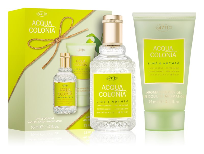 4711 Acqua Colonia Lime & Nutmeg σετ δώρου II.