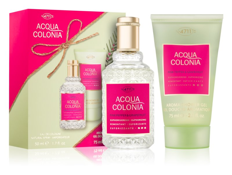 4711 Acqua Colonia Pink Pepper & Grapefruit dárková sada I.