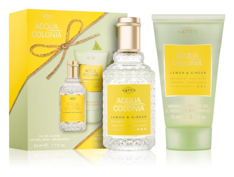 4711 Acqua Colonia Lemon & Ginger ajándékszett II.