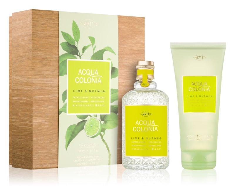 4711 Acqua Colonia Lime & Nutmeg set cadou I.