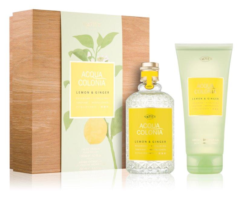 4711 Acqua Colonia Lemon & Ginger coffret cadeau I.