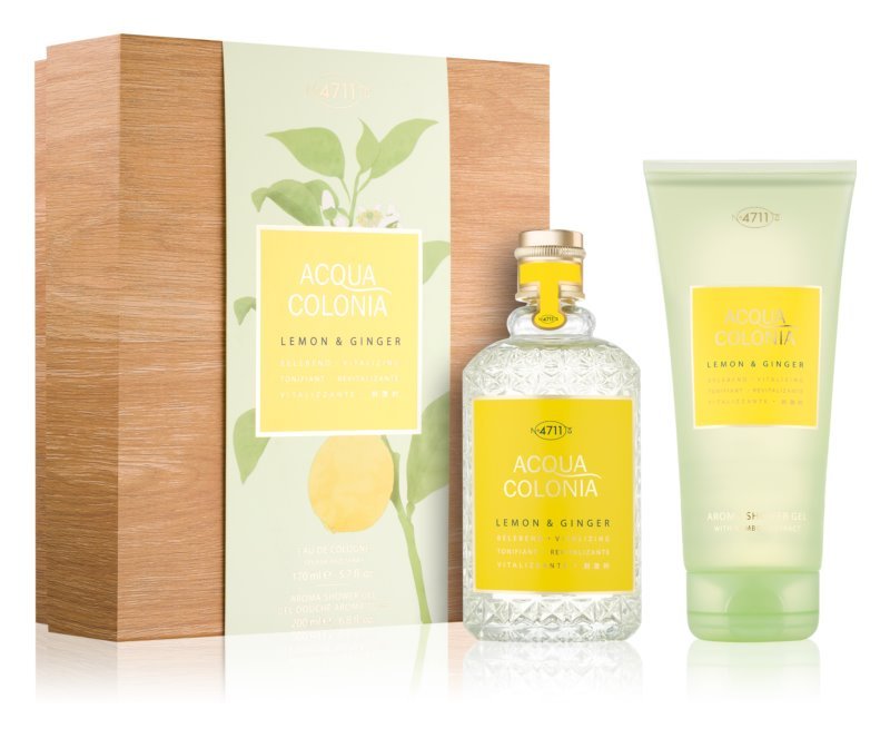 4711 Acqua Colonia Lemon & Ginger σετ δώρου I.