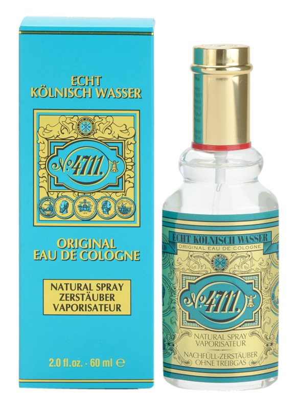 4711 Original kolínská voda unisex 60 ml plnitelná