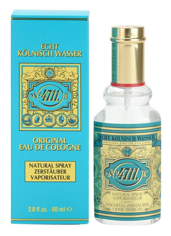 4711 Original kölnivíz unisex 60 ml utántölthető