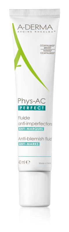 A-Derma Phys-AC Perfect korekčný fluid pre mastnú a problematickú pleť