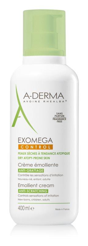 A-Derma Exomega zjemňujúci telový krém pre veľmi suchú citlivú a atopickú pokožku