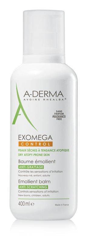 A-Derma Exomega baume corporel adoucissant pour peaux très sèches et atopiques