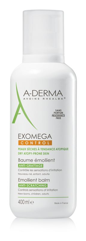 A-Derma Exomega zvláčňujúci telový balzam pre veľmi suchú citlivú a atopickú pokožku