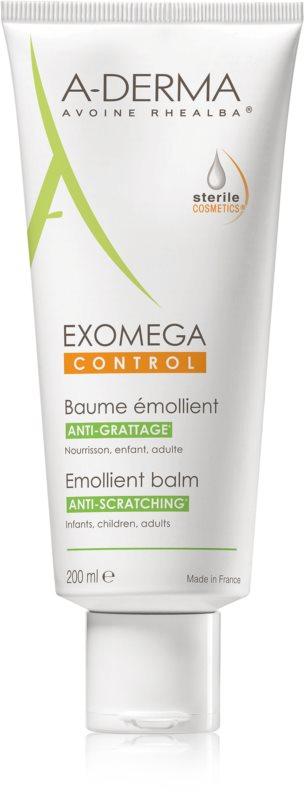A-Derma Exomega bőrpuhító testbalzsam nagyon száraz, érzékeny és atópiás bőrre