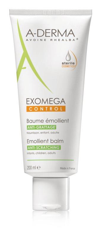 A-Derma Exomega Verfeinernder Körperbalsam für sehr trockene, empfindliche und atopische Haut