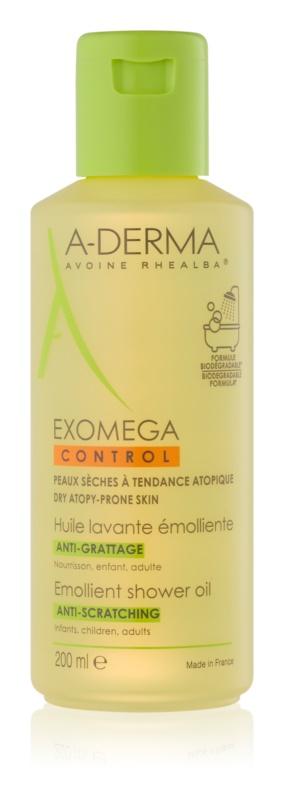 A-Derma Exomega huile de douche adoucissante pour peaux sèches à atopiques