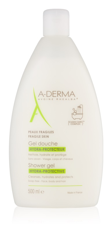 A-Derma Hydra-Protective gel douche hydratant