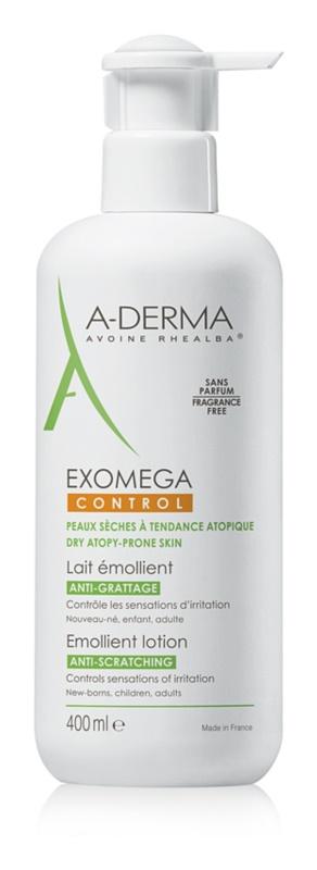 A-Derma Exomega lotiune hidratanta pentru corp pentru piele foarte sensibila sau cu dermatita atopica