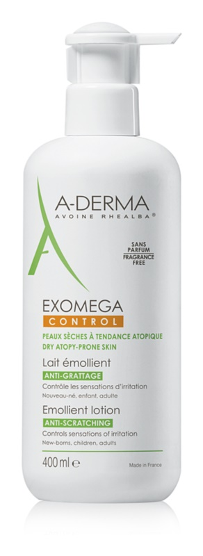 A-Derma Exomega vlažilni losjon za telo za zelo občutljivo suho in atopično kožo