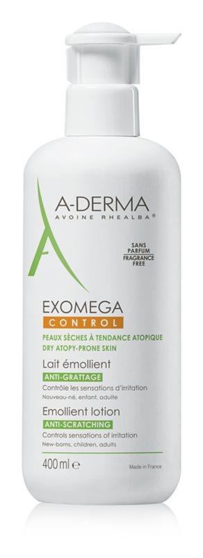 A-Derma Exomega zvláčňujúce telové mlieko pre veľmi suchú citlivú a atopickú pokožku