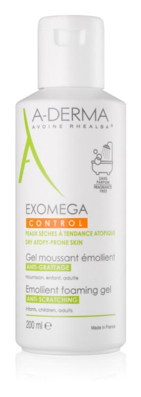 A-Derma Exomega zvláčňující pěnivý gel pro suchou až atopickou pleť
