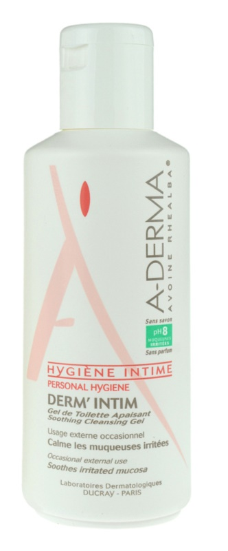A-Derma Derm´Intim gél na intímnu hygienu pH 8