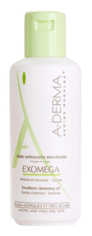 A-Derma Exomega óleo de duche para pele sensível e atópica