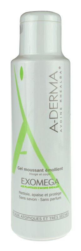 A-Derma Exomega zvláčňující pěnivý gel pro velmi suchou citlivou a atopickou pokožku