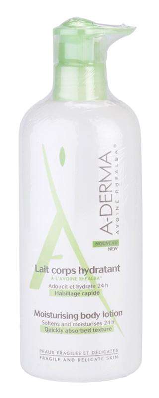 A-Derma Original Care зволожуюче молочко для тіла