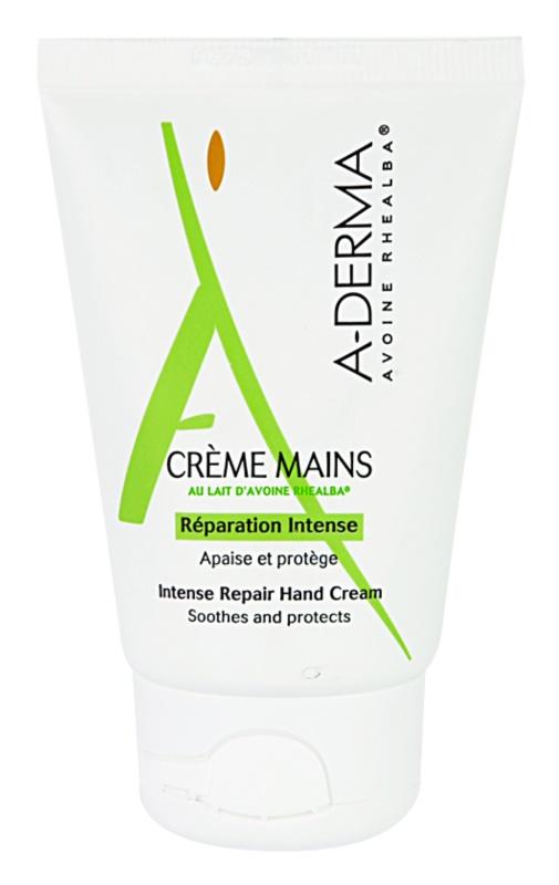 A-Derma Original Care creme regenerador   para mãos