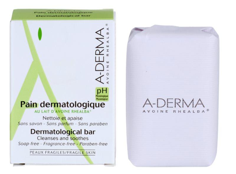 A-Derma Original Care dermatologiczne mydło w kostce do skóry wrażliwej i podrażnionej