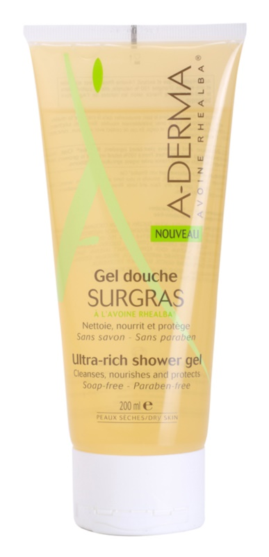 A-Derma Original Care gel de ducha nutritivo