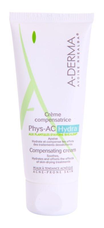 A-Derma Phys-AC Hydra crema hidratanta pentru piele iritata sau uscata datorita tratamentelor impotriva acneei