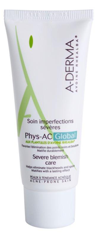 A-Derma Phys-AC Global soin complet pour peaux à problèmes, acné