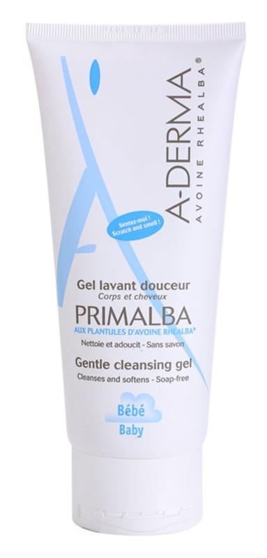 A-Derma Primalba Baby champô e gel de duche 2 em 1 para crianças